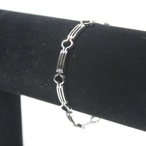 Jewelry - Linked Sterling Silver Bracelet - Italy
